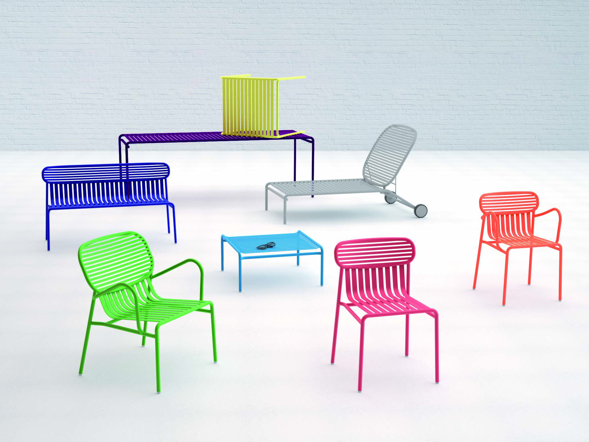 seria nowoczesnych mebli ogrodowych meble metalowe. Black Bedroom Furniture Sets. Home Design Ideas