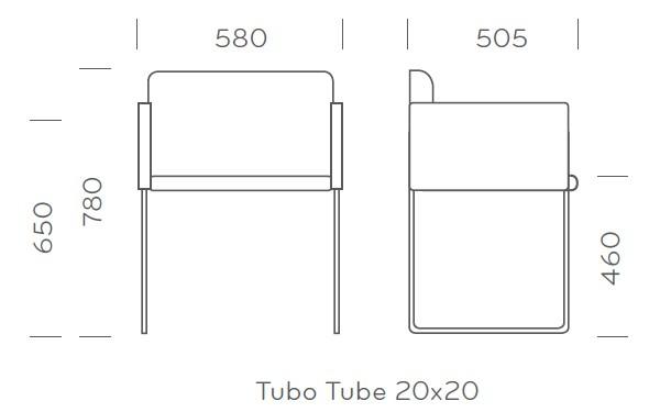 box 740 nowoczesny fotel pedrali wymiary