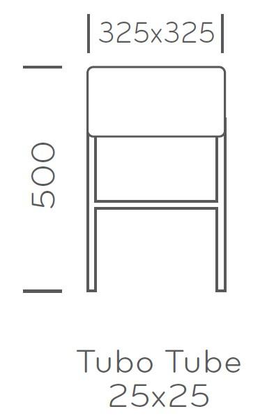 cube 1403 stolek Pedrali